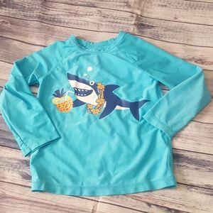 Baby Gap Shark swim top, 4 years old